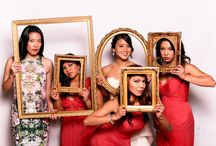 DIY Photo Booth / This is an inspiration board for photo booth props, setup, and all things fun around them!