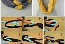 Scarf folding