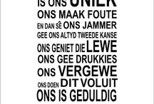 My AFRIKAANSe taal