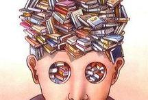 Bookish Illustration