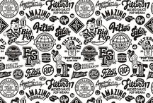 Black&White Retro - Logo Print