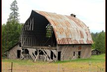 Old barns / by Linda Jones
