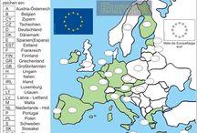 Němčina - zeměpis