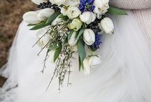 Blue winter wedding ideas / Blue wedding ideas by bello matrimonio