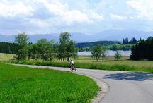 auf zwei Rädern unterwegs / Rad- und Mountainbiketouren mit Kids
