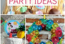 Laua party / Tropical or Laua themed party