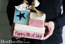 4th of July Crafts and Food