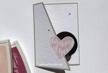 Basteln mit Papier und Stanzen / DIY / Viele tolle Ideen was ihr mit Produkten von Stampin' Up! machen könnt