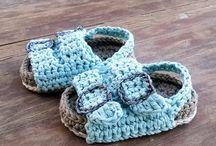 Szydełko - baby boots