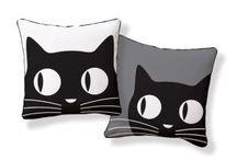 Inspirações para os amantes de Gatos / Objetos de decoração com a temática de gatos