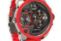 Diesel Uhren rot / Diesel Uhren rot