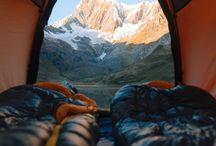 çadır manzaralari