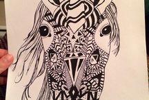 My unicorn inca art piece / My unicorn inca art piece