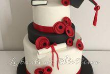 torta de graduación