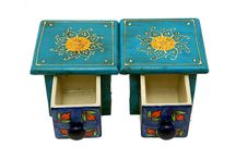 Set of Two Separate Mini Drawers ( Multicoloured )