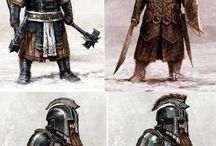 Medieval - Fantasy weapons
