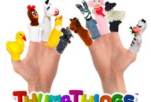 10 fingers! / Finger Puppets!!!!