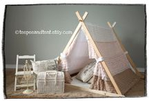 diy kids tents / by Anne Sprosen