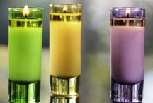 Votive Candles / These small candles are fun to mix and match!