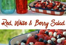 Patriotic Dishes / Patriotic Dishes to serve on Memorial Day and Fourth Of July