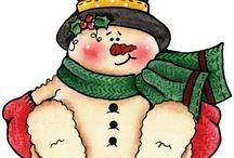 Printables - Stamps-Christmas