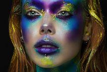 makeup funky