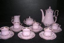 Ružový porcelán