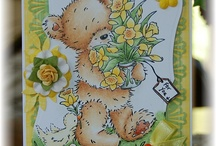 Cards - Flowers and butterflies / by Alicia Gavlik