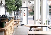 Koffiezaak cafe interiors