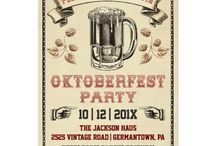 Octoberfest Party Y'all! / by Chrissy O'Leary