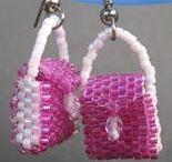 Mini bead Purse