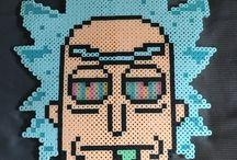 Rick n Morty Perler