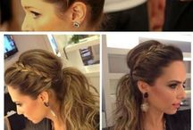 Bridesmaid / Hairstyles for dads wedding/homecoming.