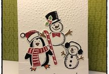 Stampin Up Snow Friends