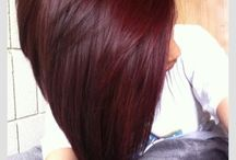 Black cherry hair