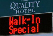 Hotel LED Sign