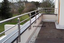 garde corps inox pour terrasse