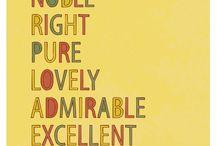 I love words. / by Heatherly Sylvia