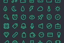 icons & typo