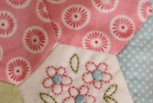 Quilts - Hexagons / Quilts - Hexagons / by Terri Montgomery