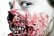 makeup art (wounds, scary-cool things)