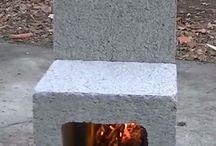 brick stove