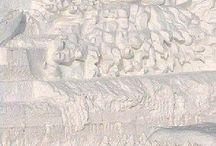 sochy z písku a ledu