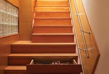 Stairs with storage