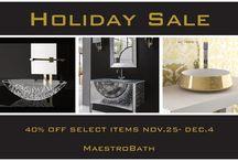 Modern Luxury Holiday Sale / #ModernLuxury#Discount#HolidaySale