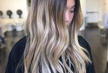Farge håret