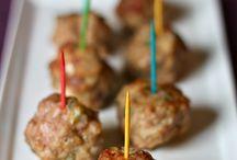 Snacks for parties / Meatballs