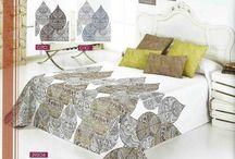 Colchas Jacquard de Arte Mur / Colchas Jacquard con diseños exclusivos ideal para tu dormitorio