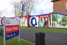 Signage | Taylor Wimpey Academy Central / To keep up to date with latest projects visit www.octink.com