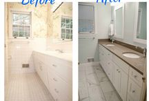 RE-BATH Before And Afters / See how we can transform your bathroom - Ultimate, Premium, Bathroom Makeovers - Bathroom remodels - Before and After of Bathroom Remodels